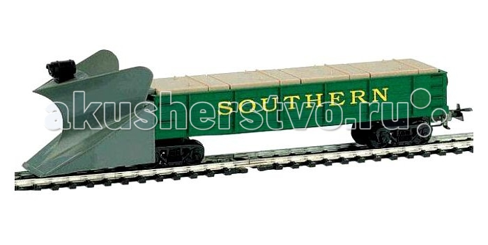 Железные дороги Mehano Вагон-снегоуборщик Southern железнодорожные модели б у