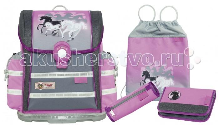 Школьные рюкзаки Thorka Школьный рюкзак MC Neill ERGO Light 912 S Настроение 4 предмета mc neill пенал овальныйl гринтрак цвет зеленый