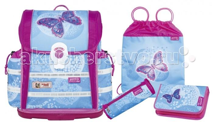 Развитие и школа , Школьные рюкзаки Thorka Школьный рюкзак MC Neill ERGO Light 912 S Легкость 4 предмета арт: 360918 -  Школьные рюкзаки