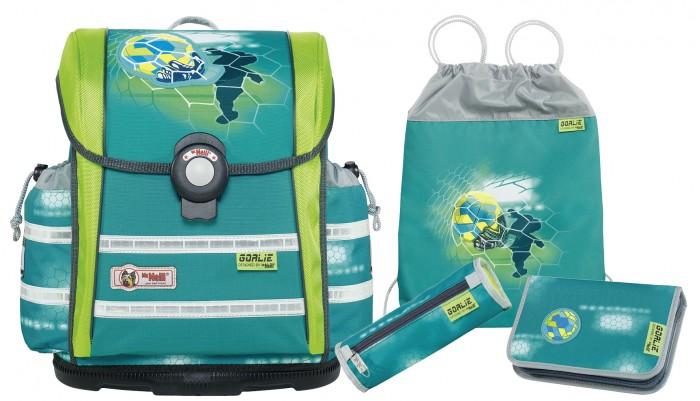 Школьные рюкзаки Thorka Школьный рюкзак MC Neill ERGO Light 912 S Вратарь 4 предмета mc neill пенал овальныйl гринтрак цвет зеленый