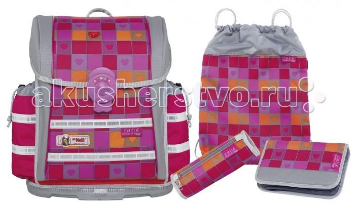 Школьные рюкзаки Thorka Школьный рюкзак MC Neill ERGO Light 912 S Милашка 4 предмета mc neill пенал овальныйl гринтрак цвет зеленый