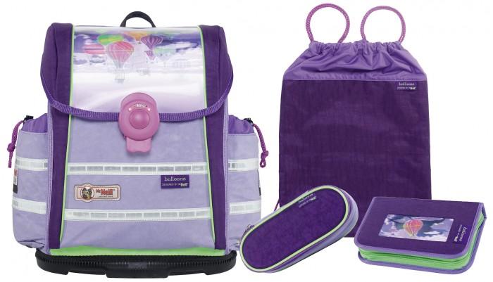 Развитие и школа , Школьные рюкзаки Thorka Школьный рюкзак MC Neill ERGO Light 912 S Воздушные шары 4 предмета арт: 361018 -  Школьные рюкзаки