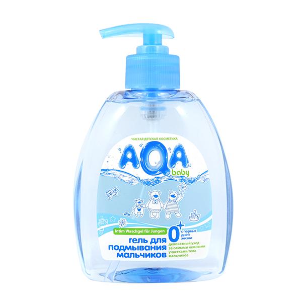 Косметика для новорожденных AQA baby Гель для подмывания мальчиков 300 мл