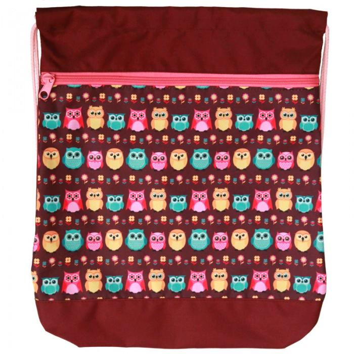 Картинка для Mprinz Мешок для обуви с карманом Owl