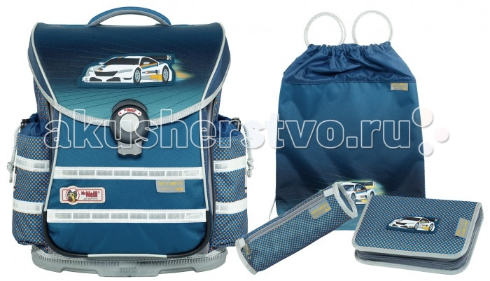 Шк��льные рюкзаки Thorka Школьный рюкзак MC Neill ERGO Light PLUS Без ограничений! 4 предмета mc neill пенал овальныйl гринтрак цвет зеленый