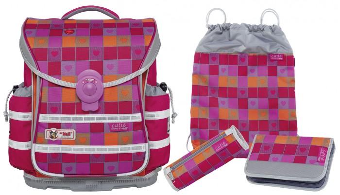 Школьные рюкзаки Thorka Школьный рюкзак MC Neill ERGO Light PLUS Милашка 4 предмета mc neill пенал овальныйl гринтрак цвет зеленый