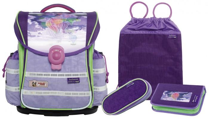 Развитие и школа , Школьные рюкзаки Thorka Школьный рюкзак MC Neill ERGO Light PLUS Воздушные шары 4 предмета арт: 361753 -  Школьные рюкзаки