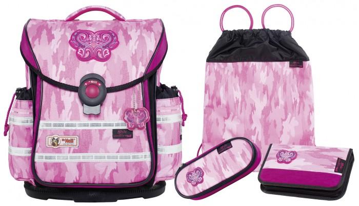 Школьные рюкзаки Thorka Школьный рюкзак MC Neill ERGO Light PLUS Стиль 4 предмета mc neill пенал овальныйl гринтрак цвет зеленый