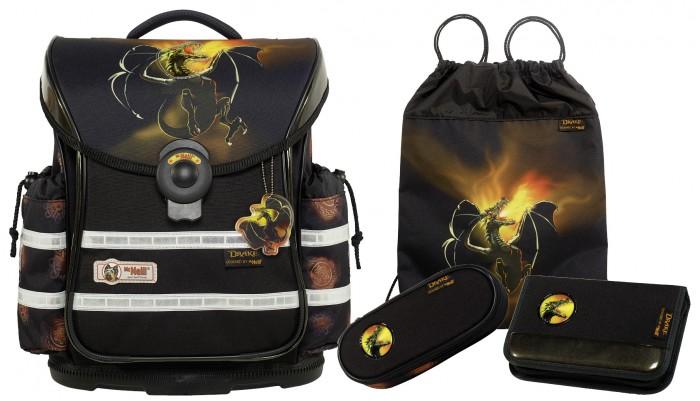Развитие и школа , Школьные рюкзаки Thorka Школьный рюкзак MC Neill ERGO Light PLUS Дракон 4 предмета арт: 361773 -  Школьные рюкзаки