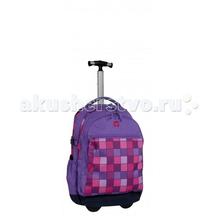 Развитие и школа , Школьные рюкзаки Thorka Рюкзак на колесах с телескопической ручкой Take it Easy Barselona Миссия арт: 361853 -  Школьные рюкзаки