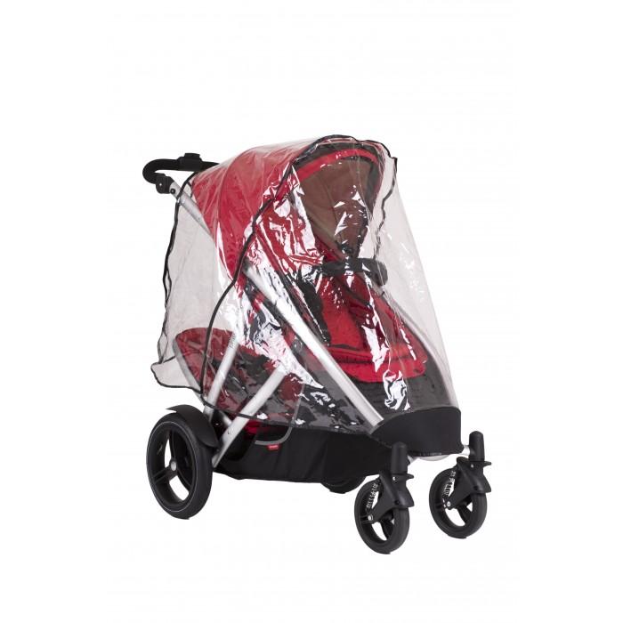Детские коляски , Дождевики Phil&Teds Комплект дна основное сидение и задняя шторка для колясок Vibe/Verve арт: 362053 -  Дождевики