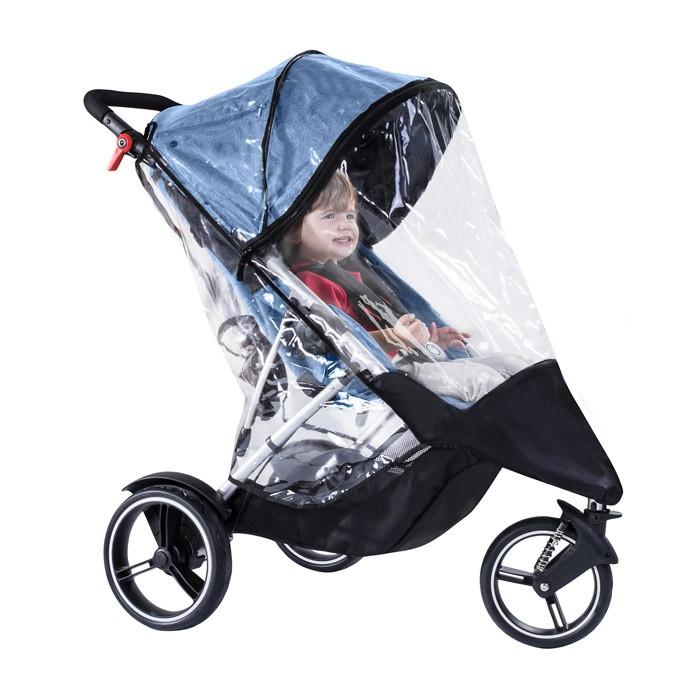 Детские коляски , Дождевики Phil&Teds Для коляски Dot Double арт: 362068 -  Дождевики