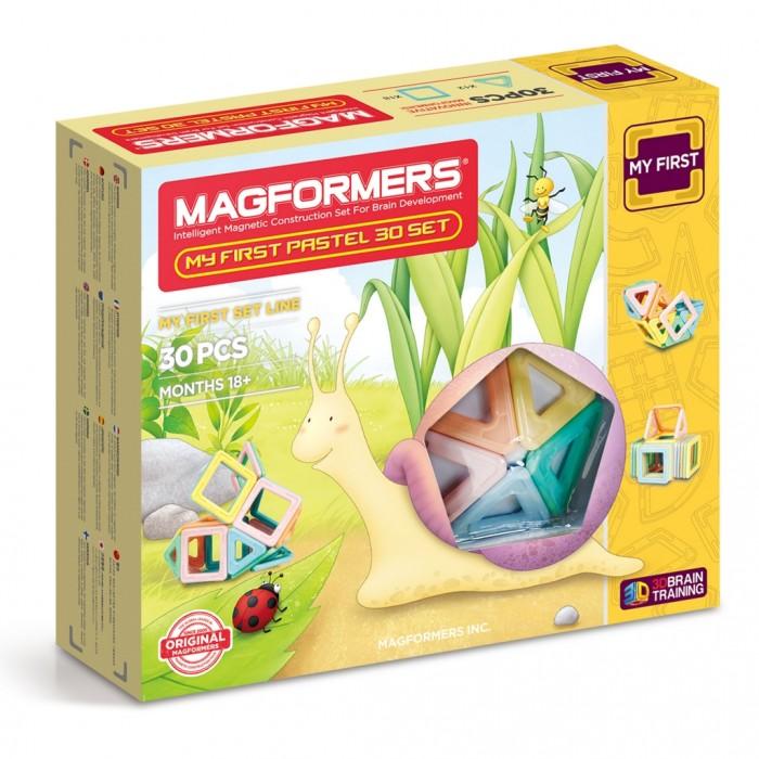 Конструктор Magformers Магнитный My First Pastel Set 30