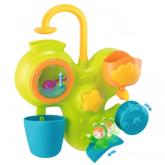 Купание малыша , Игрушки для ванны Smoby Cotoons Игровой центр для ванны арт: 36258 -  Игрушки для ванны