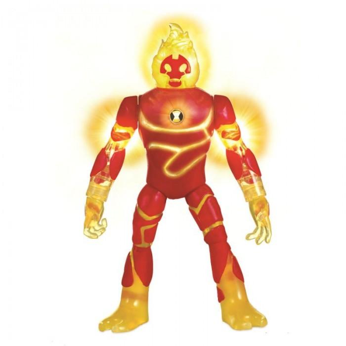 Игровые фигурки Ben-10 Фигурка Человек-огонь 16 см игровые фигурки ben 10 фигурка силач 16 см