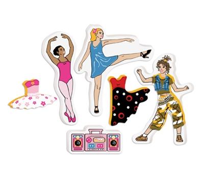 Игрушки для ванны Edushape Набор для игры в ванне Танцуй 547018 игровой набор для игры в ванне с сачком вох 46x7x32см арт zyb b1070
