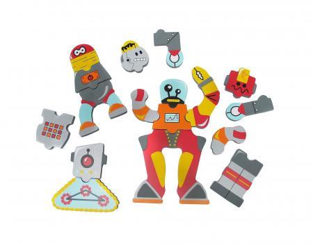 Игрушки для ванны Edushape Набор для игры в ванне Роботы 547019 игровой набор для игры в ванне с сачком вох 46x7x32см арт zyb b1070