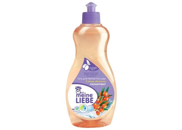 Бытовая химия Meine Liebe Гель для мытья посуды Спелая облепиха концентрат 500 мл экологичная бытовая химия meine liebe
