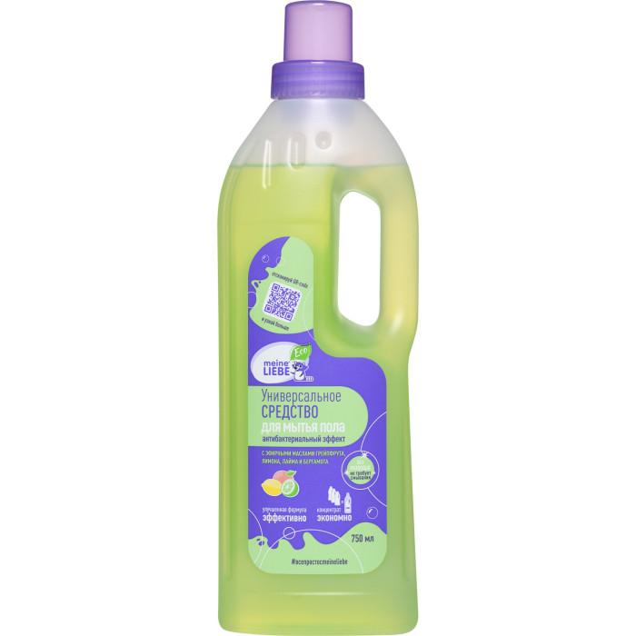Бытовая химия Meine Liebe Универсальное средство для мытья пола Антибактериальный эффект 750 мл экологичная бытовая химия meine liebe