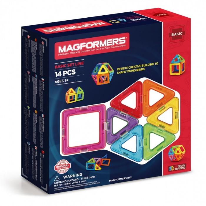 Конструкторы Magformers Магнитный Rainbow 14 63069 наколенник магнитный здоровые суставы