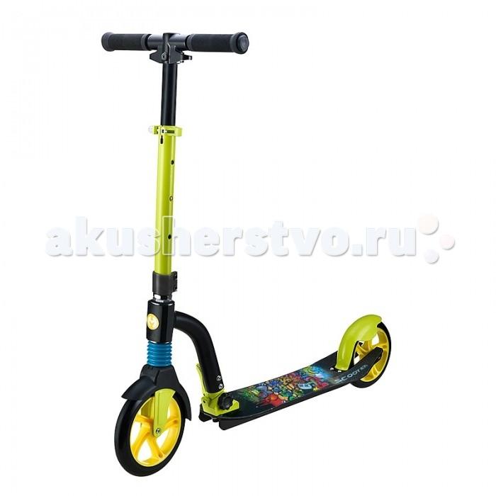 Детский транспорт , Двухколесные самокаты Pit Stop алюминиевый PS-MC031216 арт: 363292 -  Двухколесные самокаты