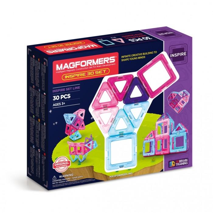Конструктор Magformers Магнитный Pastelle 30 63097Магнитный Pastelle 30 63097Магнитный конструктор Magformers Pastelle 30 63097 — один из бестселлеров Magformers 30 — теперь в пастельных тонах. Цветовая гамма этого набора — нежные оттенки розового и голубого. Как и любой конструктор Magformers, Pastelle 30 полностью совместим с другими наборами.  Магнитный конструктор Magformers относится к категории лучших развивающих игрушек для малышей и детей постарше. Это необыкновенный конструктор, который ценится своим многообразием и качеством материала. Детали магнитного конструктора Magformers сделаны из высококачественного пластика, который является абсолютно безопасным даже для самых маленьких строителей.  С каждой стороны фигуры магнитного конструктора Magformers внутри есть специальный магнит, благодаря которому детали конструктора могут соединяться между собой. Держатся детали довольно крепко, созданную конструкцию можно поднять за верхушку.  Magformers — лучшая трехмерная игрушка для развития воображения, пространственного мышления и общих мыслительных способностей. Дети могут превращать плоские предметы в объёмные, изучать принципы магнетизма.  Магнитный конструктор MAGFORMERS 30 пастель — классический игровой конструктор теперь в пастельных тонах. Цветовая гамма этого набора — нежные оттенки розового и голубого.  Набор Magformers 30 пастель включает: - 12 треугольников - 18 квадратов.<br>
