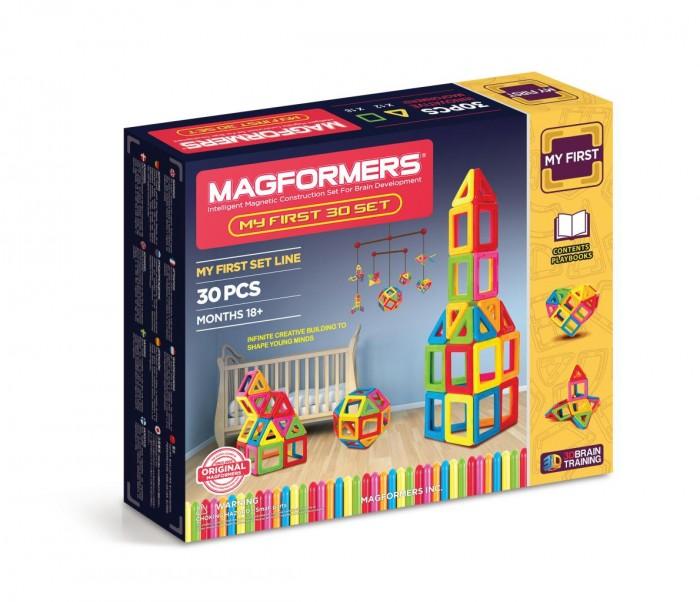 Картинка для Конструктор Magformers Магнитный My First 30 63107