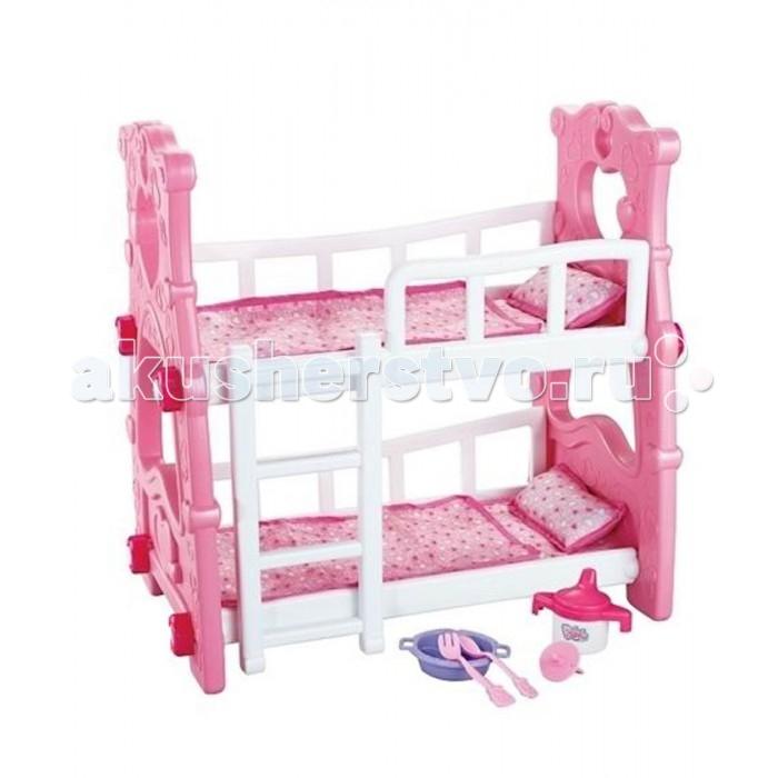 Кроватки для кукол Veld CO двухъярусная с аксессуарами, Кроватки для кукол - артикул:363457