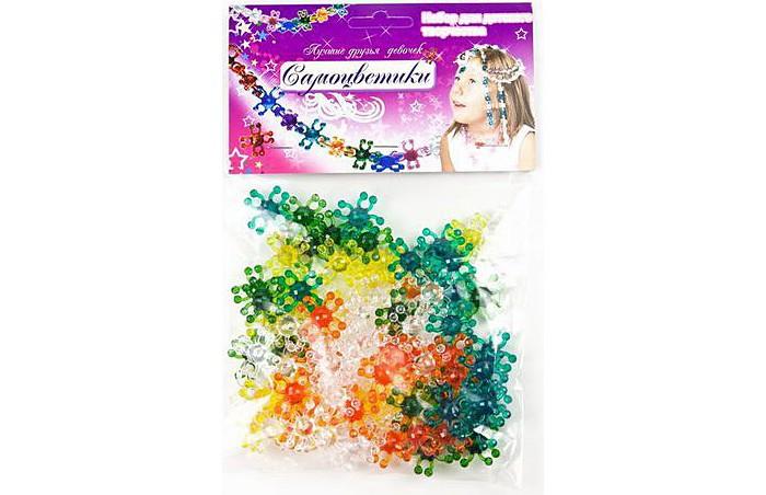 Наборы для создания украшений Биплант Самоцветики в пакете №3 (зеленый)