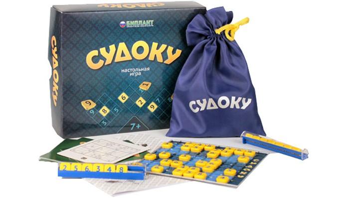 Настольные игры Биплант Настольная игра Судоку brainbox brainbox игра сундучок знаний россия