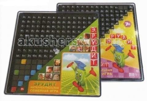 Настольные игры Биплант Настольная игра Эрудит (черные фишки) 10011 настольная игра биплант эрудит сила магнита 10001