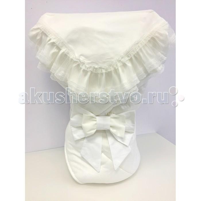 Fleole  Конверт-одеяло на выписку Молочный (зима)Конверт-одеяло на выписку Молочный (зима)Fleole Конверт-одеяло на выписку Молочный В05.634 - теплое и просторное, классической формы, может использоваться в повседневной жизни для обеспечения комфорта малышу.  В конверт входит:  1.одеяло (размер:90х90 см),внешняя сторона одеяла сатин с жаккардовым рисунком , подкладка-трикотаж состав:100% хлопок, наполнитель:холлофайбер 400; 2.кружевной уголок(90Х90 см) состав:100% хлопок 3.Бант на резинке.  Рекомендации по уходу: деликатная стирка 30°.<br>