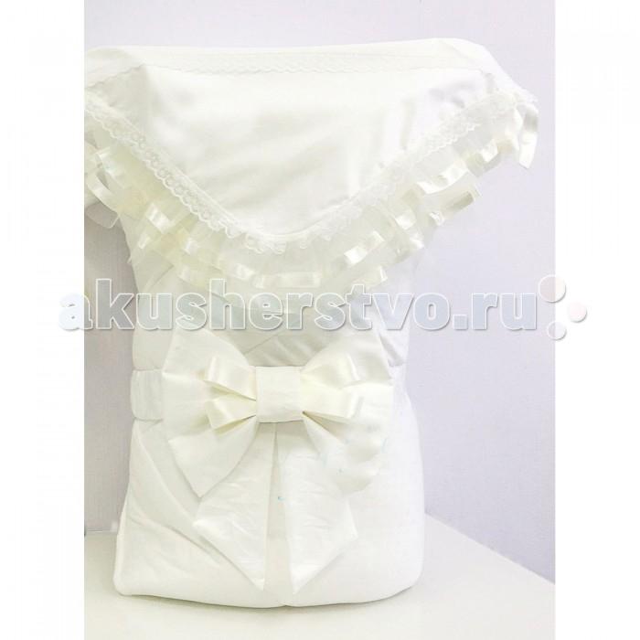 Fleole  Конверт-одеяло на выписку Отрада (зима)Конверт-одеяло на выписку Отрада (зима)Fleole Конверт-одеяло на выписку Отрада В05.584 - теплое и просторное, классической формы, может использоваться в повседневной жизни для обеспечения комфорта малышу.  В конверт входит:  1.одеяло (размер:90х90 см),внешняя строна одеяла сатин с жаккардовым рисунком , подкладка-трикотаж состав:100% хлопок, наполнитель:холлофайбер 400; 2.кружевной уголок(90Х90 см) состав:100% хлопок 3.Бант на резинке.  Рекомендации по уходу: деликатная стирка 30°.<br>