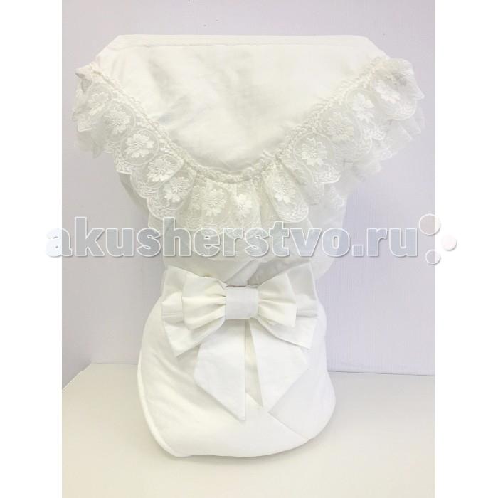 Fleole  Конверт-одеяло на выписку Услада (демисезон)Конверт-одеяло на выписку Услада (демисезон)Fleole Конверт-одеяло на выписку Услада В05.542 - теплое и просторное, классической формы, может использоваться в повседневной жизни для обеспечения комфорта малышу.  В конверт входит:  1.одеяло (размер:90х90 см),внешняя сторона одеяла сатин с жаккардовым рисунком , подкладка-трикотаж состав:100% хлопок, наполнитель:холлофайбер 200; 2.кружевной уголок(90Х90 см) состав:100% хлопок 3.Бант на резинке.  Рекомендации по уходу: деликатная стирка 30°.<br>