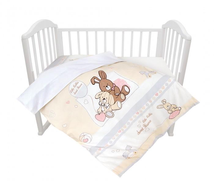 Постельное белье Baby Nice (ОТК) Милый дом (3 предмета) baby nice постельное белье ежик 3 пред бязь 60х120 baby nice
