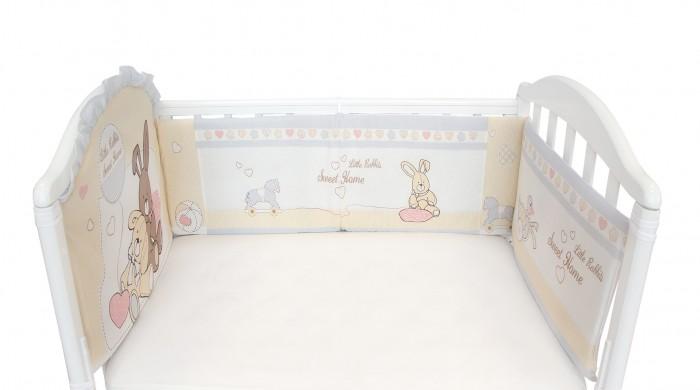 Постельные принадлежности , Бортики в кроватку Baby Nice (ОТК) Милый дом арт: 364342 -  Бортики в кроватку