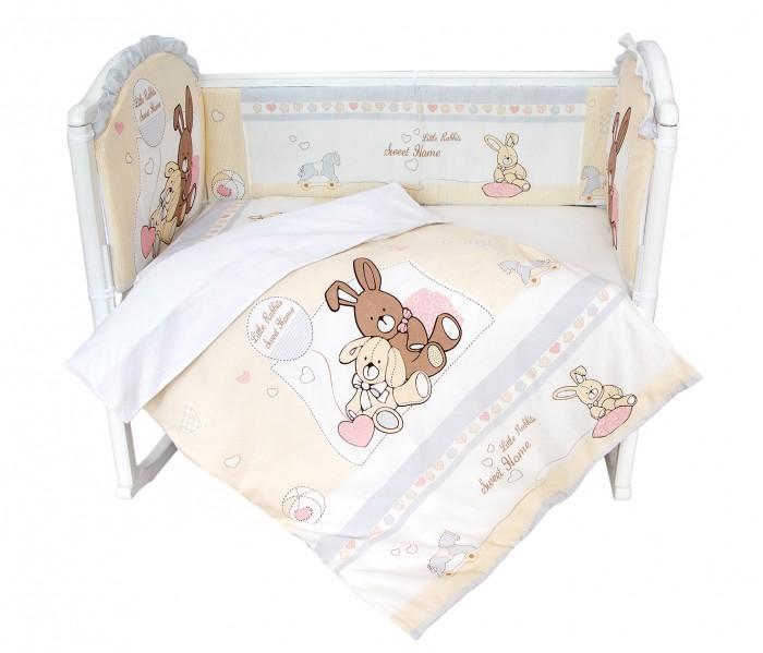 Постельные принадлежности , Комплекты в кроватку Baby Nice (ОТК) Милый дом (6 предметов) арт: 364352 -  Комплекты в кроватку
