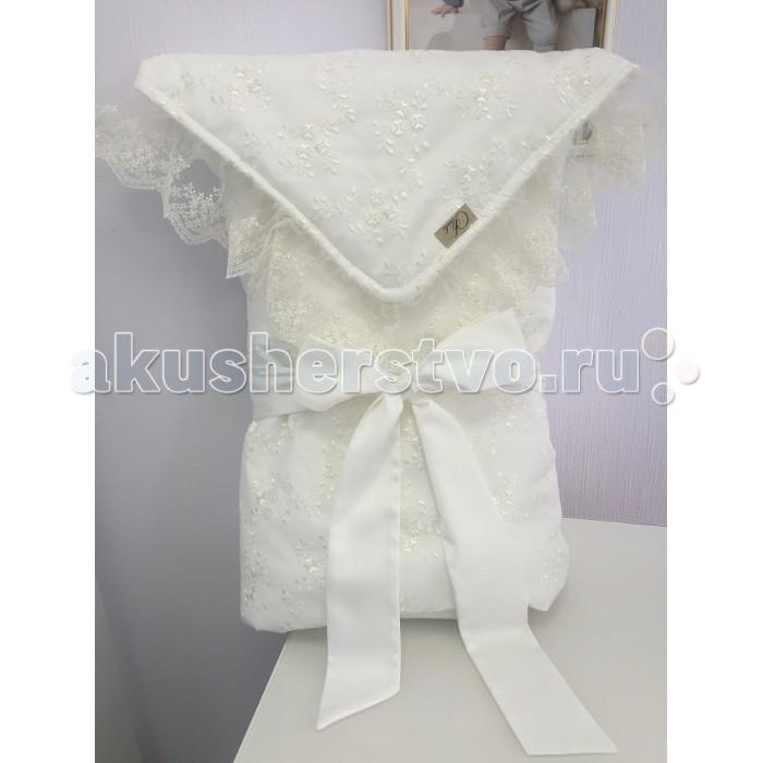Fleole  Конверт-одеяло с кружевомКонверт-одеяло с кружевомFleole Конверт-одеяло с кружевом В20.01 цвета экрю с наполнителем холлофайбер 200. Внешний слой- кружевное полотно, внутренний - трикотаж. В комплекте: одеяло и лента.  Состав: 100% хлопок, наполнитель-100% холлофайбер. Рекомендации по уходу: деликатная стирка 30°.<br>