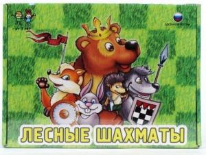 Настольные игры Биплант Настольная игра Лесные шахматы