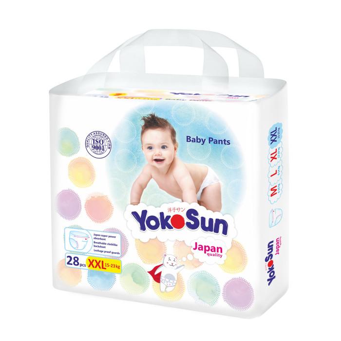 Гигиена и здоровье , Подгузники Yokosun Подгузники-трусики XXL (15-23 кг) 28 шт. арт: 365012 -  Подгузники