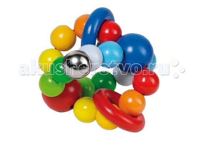 Деревянная игрушка Heimess Эластик Мячик с колечками