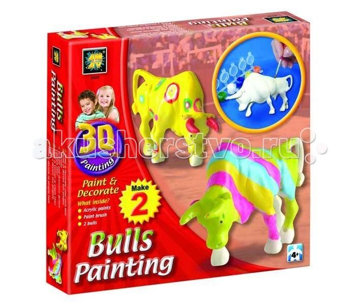 Заготовки под роспись AMAV (Diamant) Набор Разрисуй буйволов 3D мозаика amav diamant мозаика фея