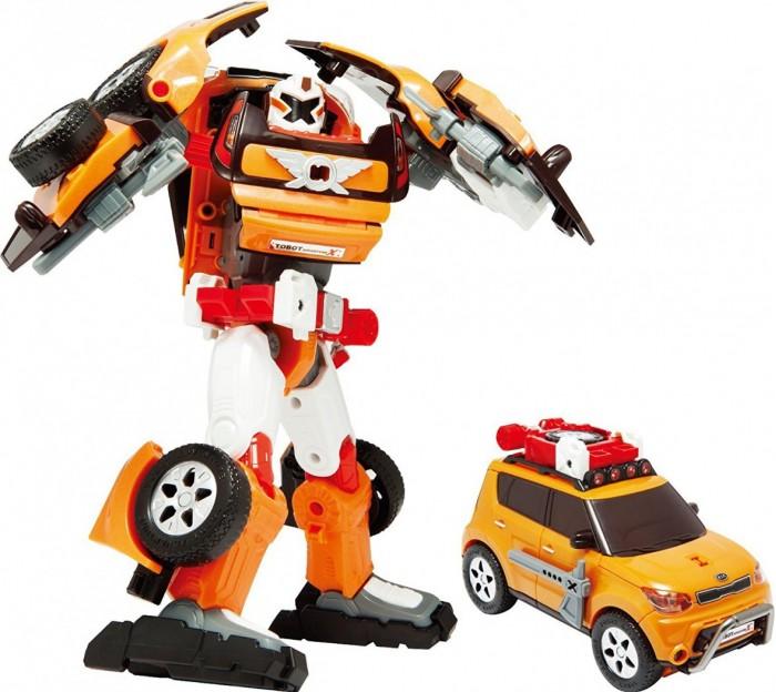 Tobot Робот-трансформер Приключения XРобот-трансформер Приключения XTobot Робот-трансформер Приключения X представляет собой великолепную игрушку, выполненную по мотивам знаменитого мультфильма.  Особенности: Благодаря детально проработанному конструктивному дизайну, а также наличию большого количества подвижных элементов, робота можно превратить в стильную модель легкового автомобиля.  Такая интересная функциональная особенность поможет сделать игровые сюжеты намного более захватывающими и динамичными. Космический воитель, прилетевший на Землю, готов выполнять любое секретное задание, придуманное ребенком, маскируясь под обычное на первый взгляд авто. У робота подвижные конечности, потому игра с ним будет выглядеть реалистично и натурально. Трансформация происходит весьма просто, поэтому ребенок может осуществлять ее самостоятельно. В соответствие с мультипликационным прототипом, данная игрушка имеет тщательно проработанный внешний вид. Игрушка изготовлена из качественных, ударопрочных материалов, окрашенных в насыщенные цвета с помощью специальных гипоаллергенных красителей. В процессе использования ребенок сможет развить мелкую моторику пальцев, а также хорошенько пофантазировать, придумывая увлекательные сюжеты для своей новой игрушки.<br>