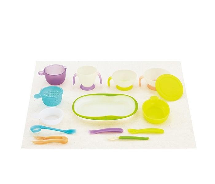 Combi Набор детской посуды для кормления Baby Tableware