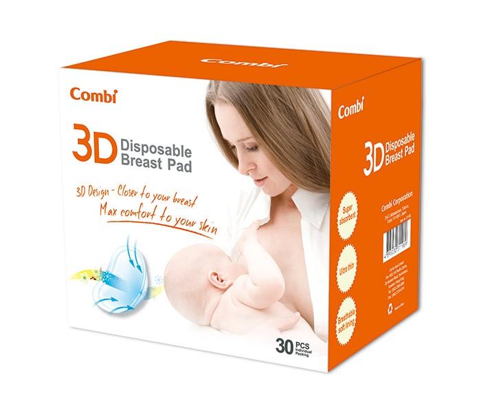 все цены на Гигиена для мамы Combi Вкладыши в бюстгальтер для кормящих мам