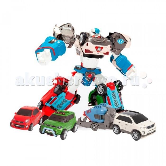 Tobot Робот-трансформер ДельтатронРобот-трансформер ДельтатронTobot Робот-трансформер Дельтатрон представляет собой великолепную игрушку, выполненную по мотивам знаменитого мультфильма.  Особенности: Благодаря детально проработанному конструктивному дизайну, а также наличию большого количества подвижных элементов, робота можно превратить в стильную модель легкового автомобиля.  Такая интересная функциональная особенность поможет сделать игровые сюжеты намного более захватывающими и динамичными. Космический воитель, прилетевший на Землю, готов выполнять любое секретное задание, придуманное ребенком, маскируясь под обычное на первый взгляд авто. У робота подвижные конечности, потому игра с ним будет выглядеть реалистично и натурально. Трансформация происходит весьма просто, поэтому ребенок может осуществлять ее самостоятельно. В соответствие с мультипликационным прототипом, данная игрушка имеет тщательно проработанный внешний вид. Игрушка изготовлена из качественных, ударопрочных материалов, окрашенных в насыщенные цвета с помощью специальных гипоаллергенных красителей. В процессе использования ребенок сможет развить мелкую моторику пальцев, а также хорошенько пофантазировать, придумывая увлекательные сюжеты для своей новой игрушки. Все автомобили данного мультсериала являются моделями одного корейского бренда KIA. Робот может еще и превращаться сразу в 3 машинки разного цвета с вращающимися колёсиками.<br>
