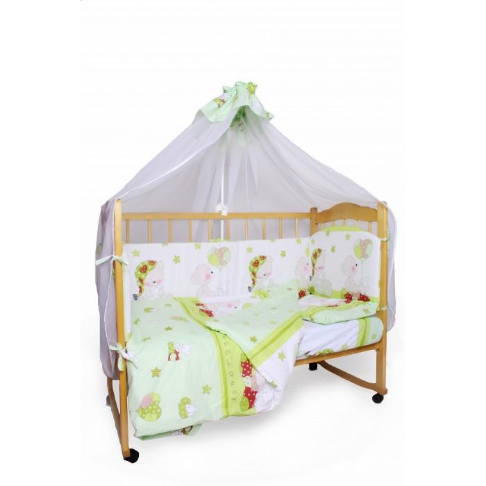 Комплект в кроватку AmaroBaby Мишкин сон (7 предметов)