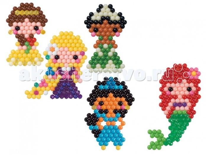 Мозаика Aquabeads Лицензированный набор Принцессы Дисней, Мозаика - артикул:366238