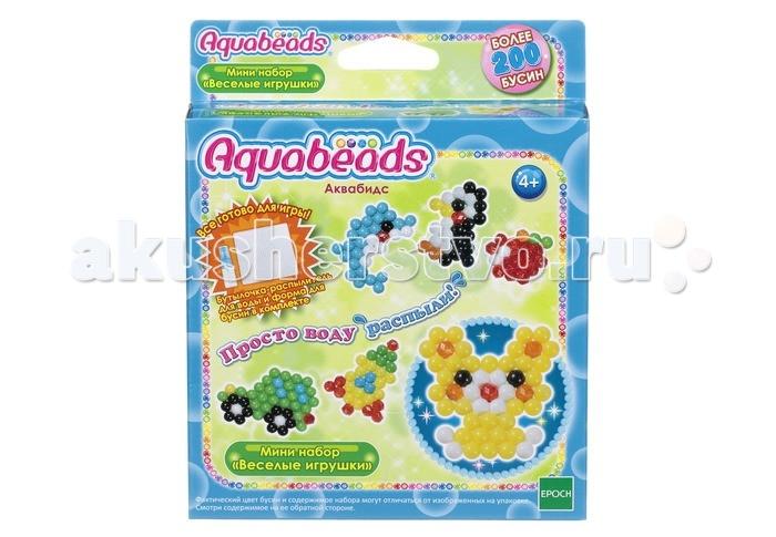 Купить Aquabeads Мини набор Веселые игрушки в интернет магазине. Цены, фото, описания, характеристики, отзывы, обзоры