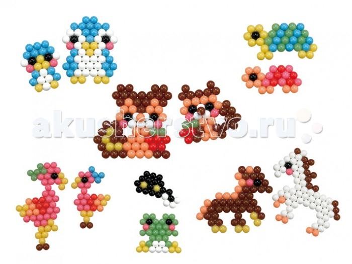 Фото Мозаика Aquabeads Набор бусин Забавные животные мозаика aquabeads аксессуар ручка пинцет